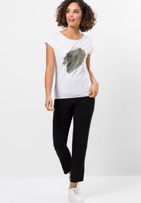 zero - Print T-shirt - white - 1