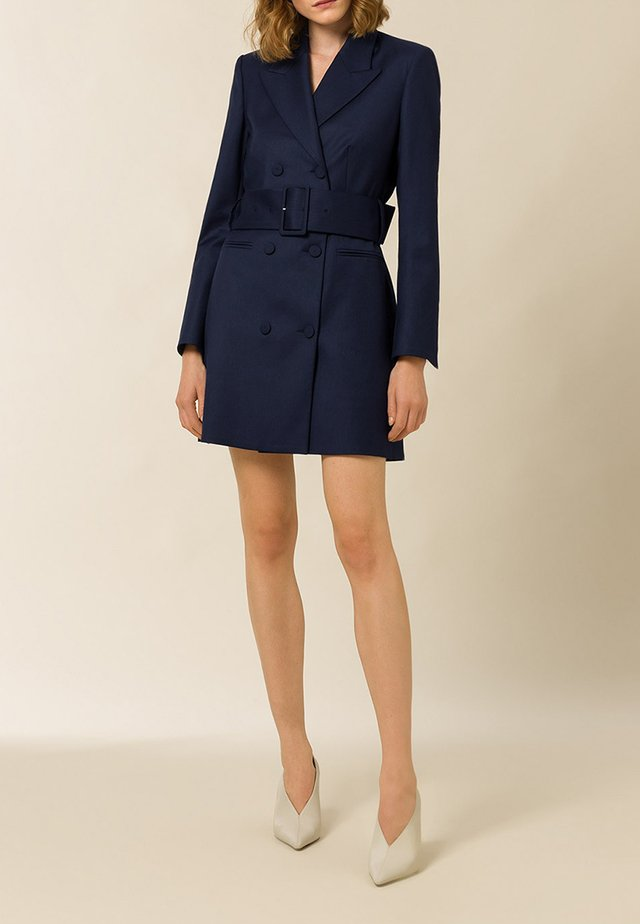 AVENA GRAIN - Blazer - navy blue