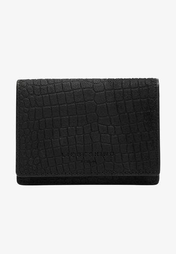 SUEDE LIZARD - Wallet - black