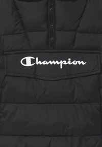 Champion - LEGACY OUTDOOR HOODED UNISEX - Winterjacke - black - 2
