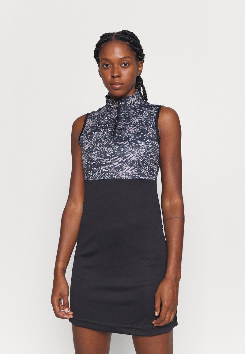 Daily Sports - LUNA DRESS - Sports dress - black