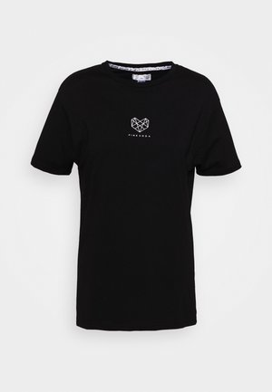 HERON BOYFRIEND - Camiseta básica - black