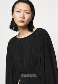 Lauren Ralph Lauren - CLASSIC LONG GOWN TRIM - Occasion wear - black - 4