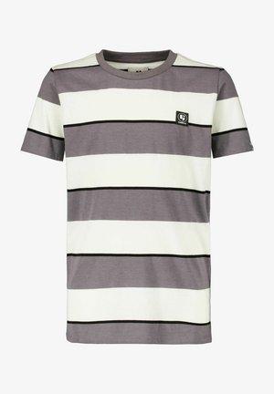 Print T-shirt - dark grey melee