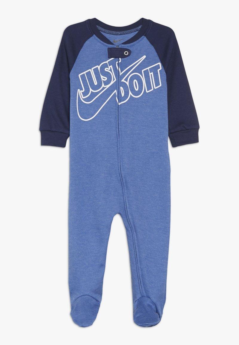 Nike Sportswear - FOOTED COVERALL BABY - Pyjama - mountain blue heather