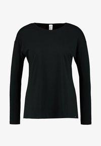 SLEEP & DREAM LANGARM - Pyjama top - black