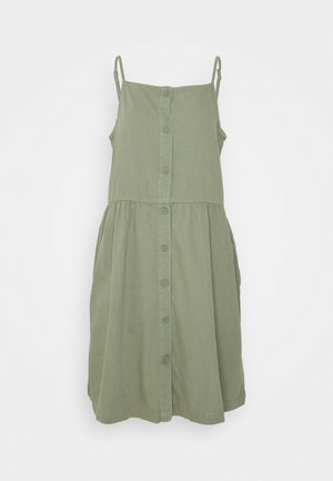 LOLLO DRESS - Denní šaty - khaki green medium dusty