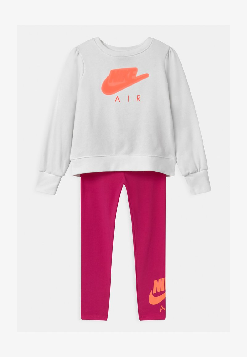 Nike Sportswear - AIR SET - Survêtement - fireberry