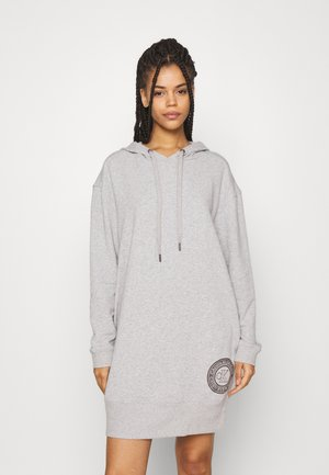 NIGHTSHIRT HOOD - Nightie - grey heather