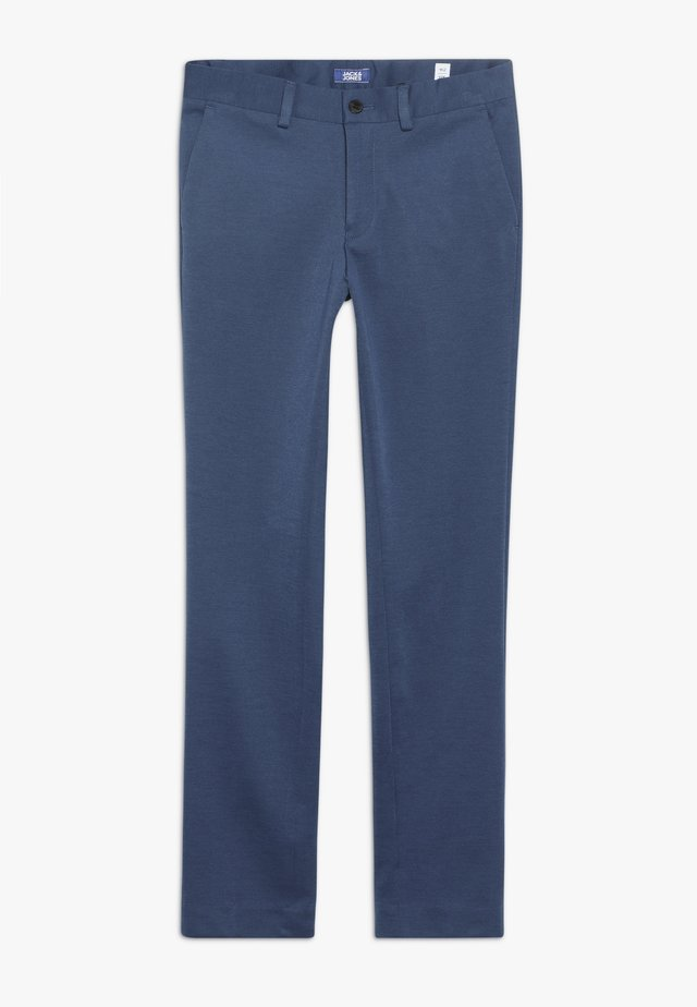 JPRSTEVEN TROUSER - Pantalones chinos - estate blue