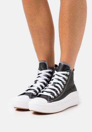 CHUCK TAYLOR ALL STAR MOVE - Zapatillas altas - black/white/pink quartz