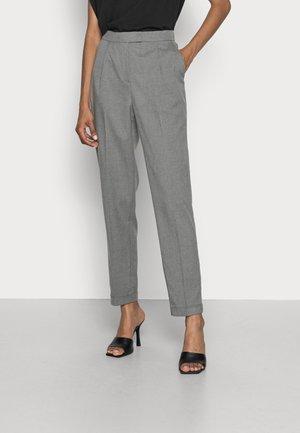 PER HR - Trousers - gunmetal