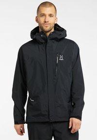 Haglöfs - ASTRAL GTX JACKET - Hardshell jacket - true black - 0
