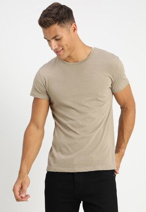 KRONOS  - Basic T-shirt - timber wolf melange