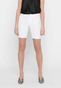ONLY - Short en jean - white - 0