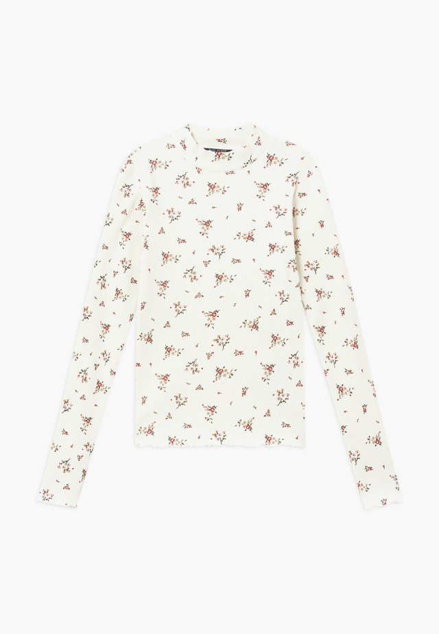 TEENS FLORAL  - Maglietta a manica lunga - offwhite