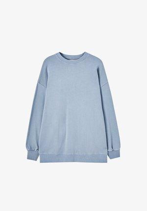 Felpa - mottled blue