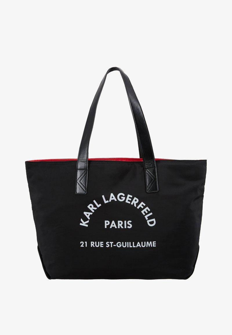 Karl Lagerfeld Shopping Bag Torebka Black Czarny Zalando Pl