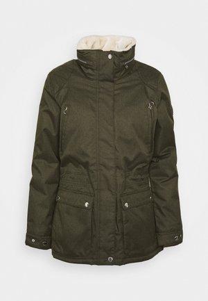 LORETTA - Outdoor jacket - dark khaki