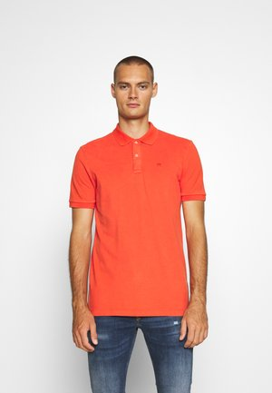 GARMENT DYED STRETCH  - Polo shirt - orange shell