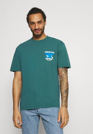WARPED TEE - T-shirt con stampa - green