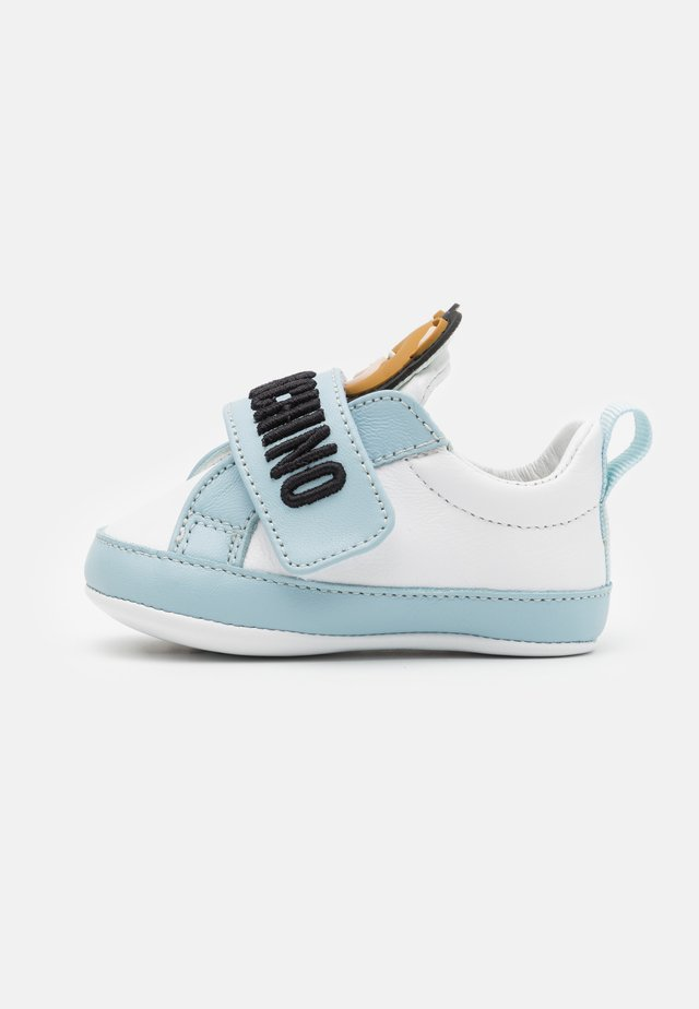 UNISEX - Patucos - white/light blue