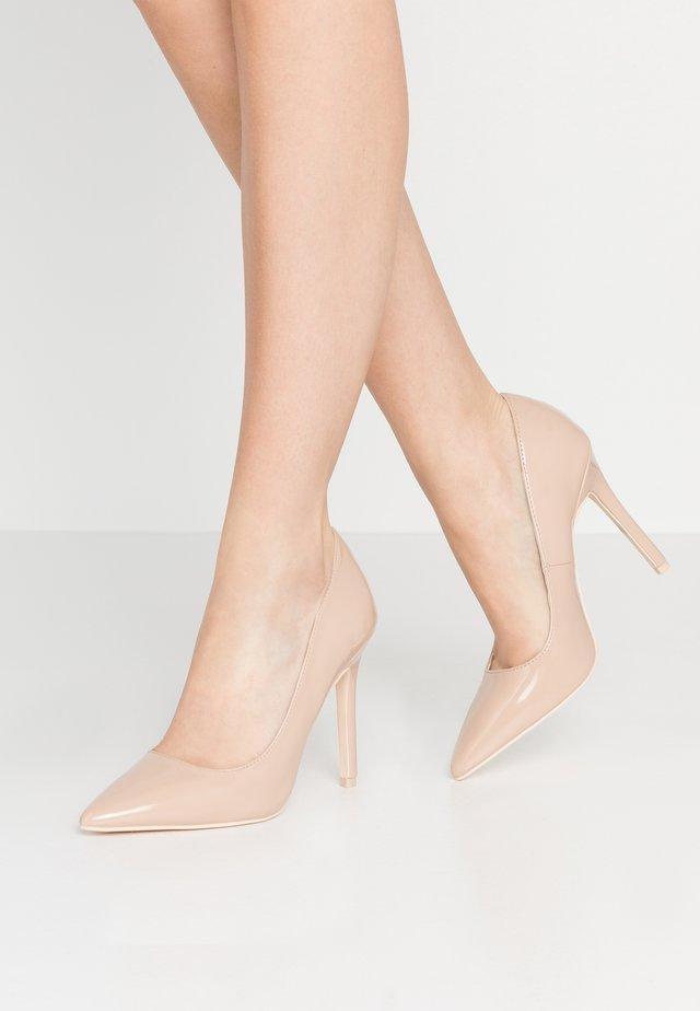 SLIM  - Zapatos altos - beige