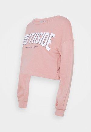 PCMMYLLE CROPPED - Sweatshirts - misty rose