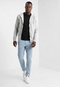 Solid - MORGAN ZIP - veste en sweat zippée - light grey - 1