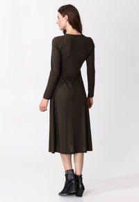 Indiska - ARA - Jumper dress - brown - 2