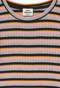 Mads Nørgaard - DREAM STRIPE TALIKA - Long sleeved top - rose multicolor - 3