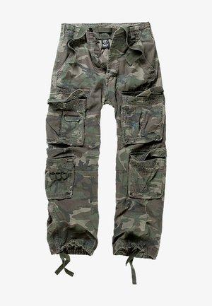 Pantaloni cargo - olive camo