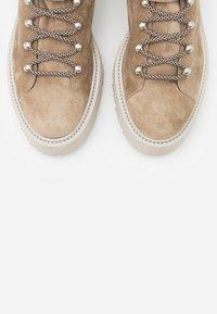 Kennel + Schmenger - POWER - Platform ankle boots - biscuit - 5