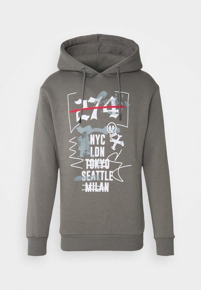 CITY HOOD - Hoodie - grey