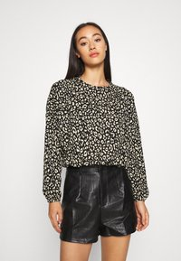 ONLY - ONLZILLE ONECK - Long sleeved top - black - 0