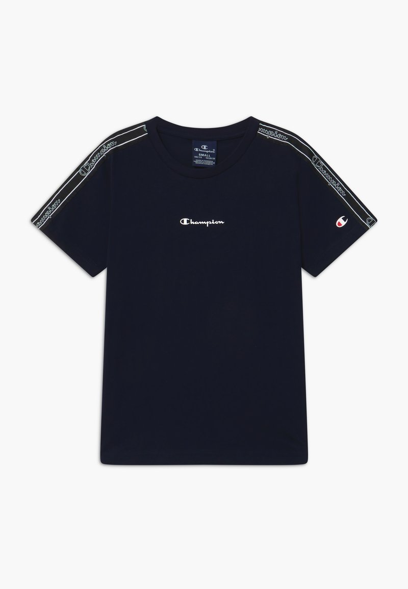 Champion - LEGACY AMERICAN TAPE CREWNECK - Camiseta estampada - dark blue