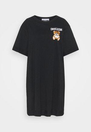 DRESS - Sukienka z dżerseju - fantasy black