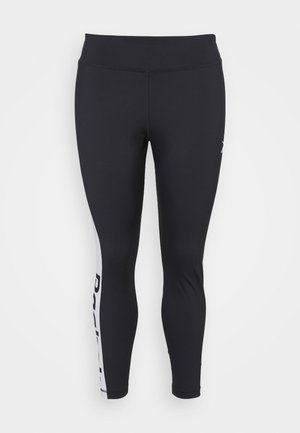 LINEAR LOGO - Leggings - night black