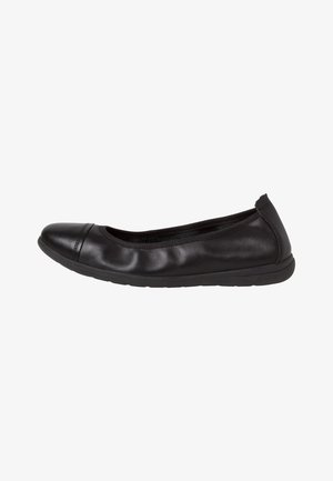 BALLERINA - Foldable ballet pumps - black uni