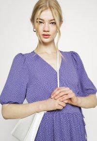 Monki - Day dress - lilac/purple medium dusty - 3