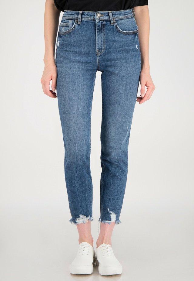 Slim fit jeans - blau gewaschen