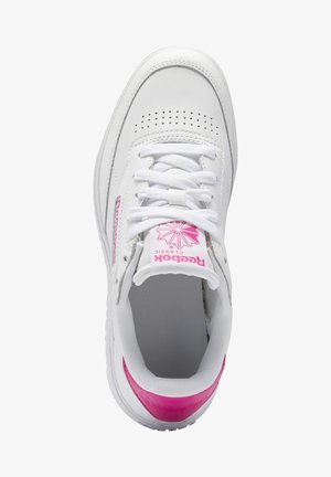 CLUB C DOUBLE - Trainers - white/white/propnk