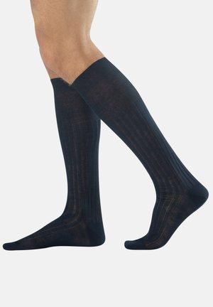 2 PACK - Knee high socks - blue