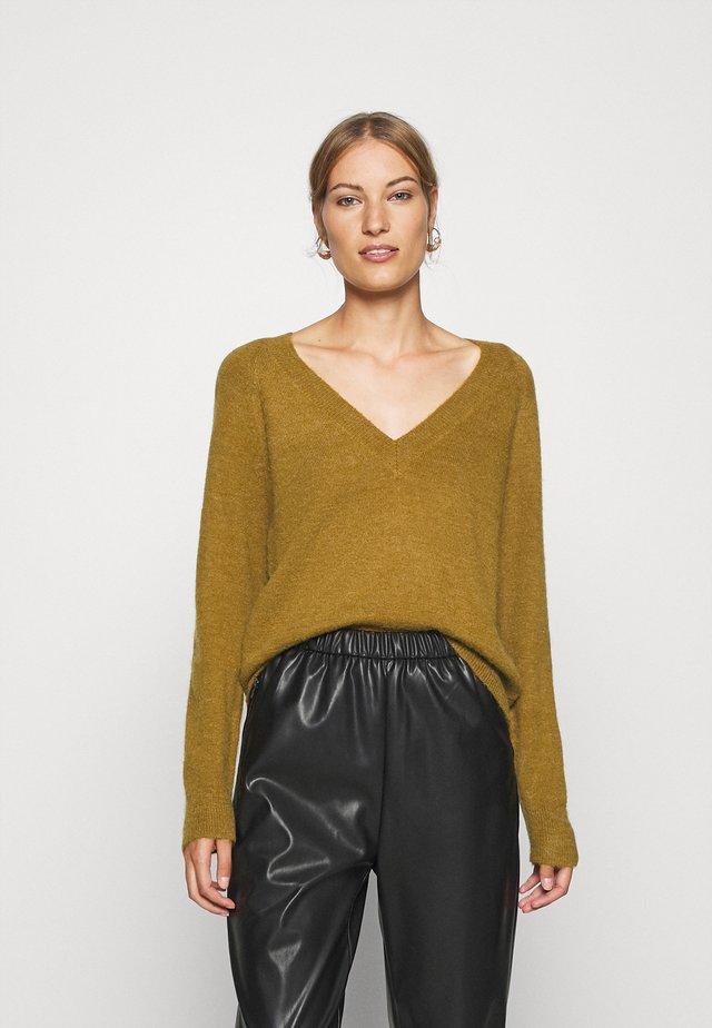 PERLEE - Pullover - breen melange