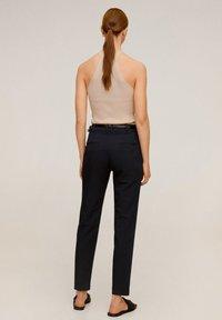 Mango - BOREAL - Spodnie materiałowe - dunkles marineblau - 2