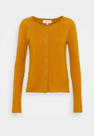 Cardigan - golden mustard