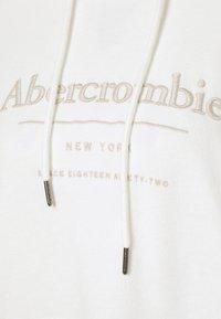 Abercrombie & Fitch - LOGO POPOVER - Sweatshirt - white - 5