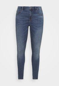 ONLY Carmakoma - CARFLORIA LIFE SKINNY  - Jeans Skinny Fit - medium blue denim - 4