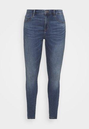 CARFLORIA LIFE SKINNY  - Skinny džíny - medium blue denim