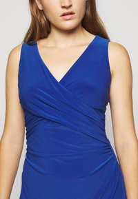 Lauren Ralph Lauren - MID WEIGHT DRESS - Jersey dress - summer sapphire - 5